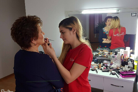 oana gherga make-up artist