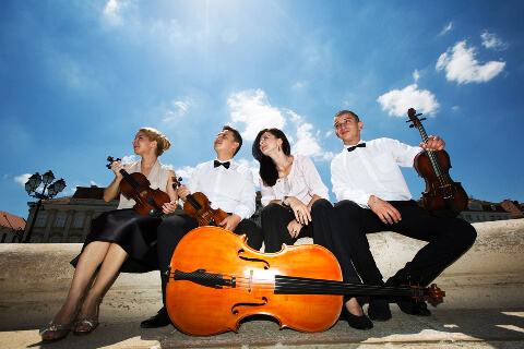 poza Entertainer Cvartet