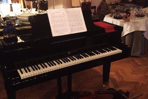 poza Piano Violin Duet
